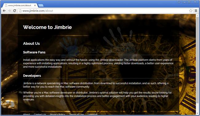 Screenshot of Jimbrie