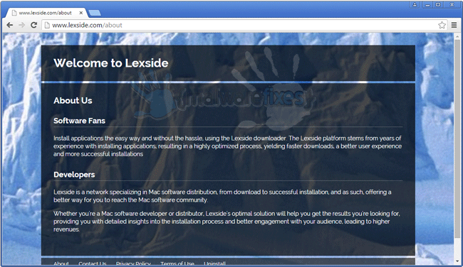 Screenshot of Lexside