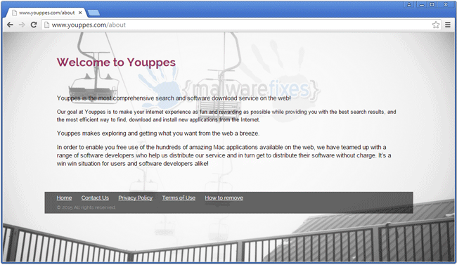 Screenshot of Youppes