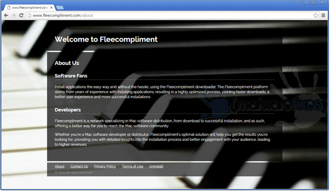 Screenshot image of Fleecompliment