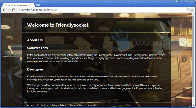 Friendlysocket screenshot image