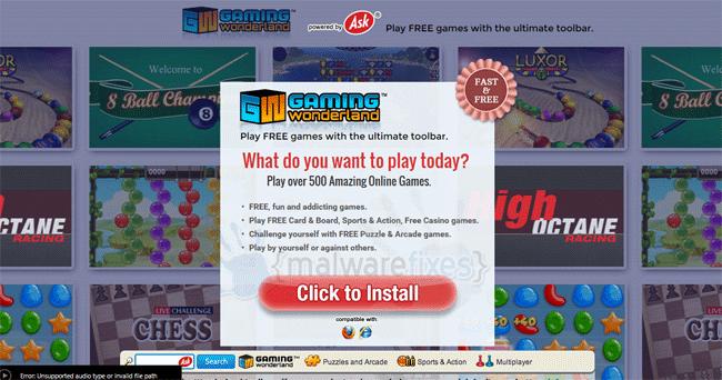 Gaming Wonderland