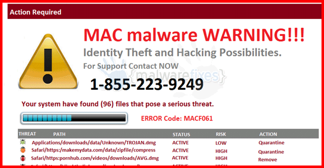 Mac Malware Warning