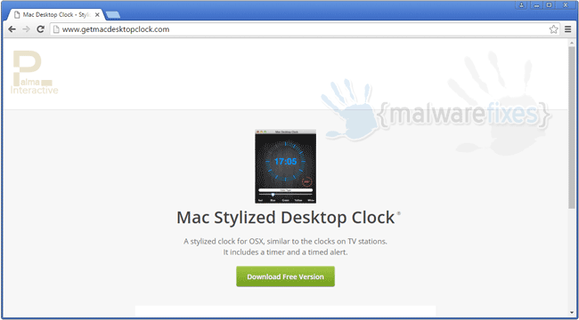 Mac Desktop Clock