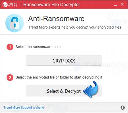 Decrypt CryptXXX