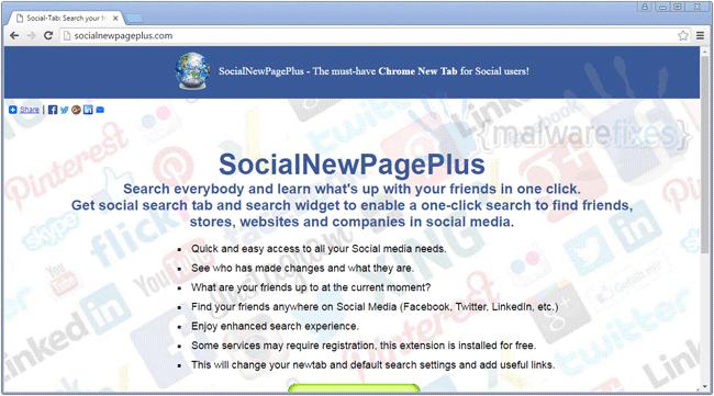 SocialNewPagePlus