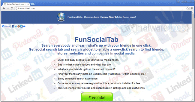 FunSocialTab