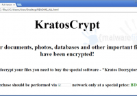 Remove KratosCrypt Ransomware and Decrypt Files | MalwareFixes
