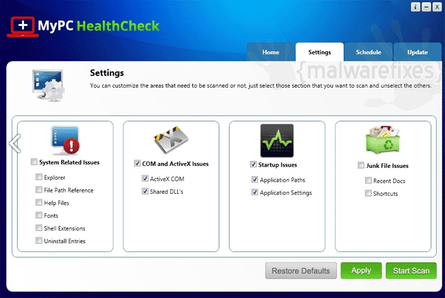 MyPC HealthCheck