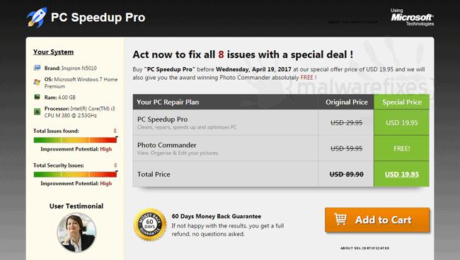 PC Speedup Pro - Fix
