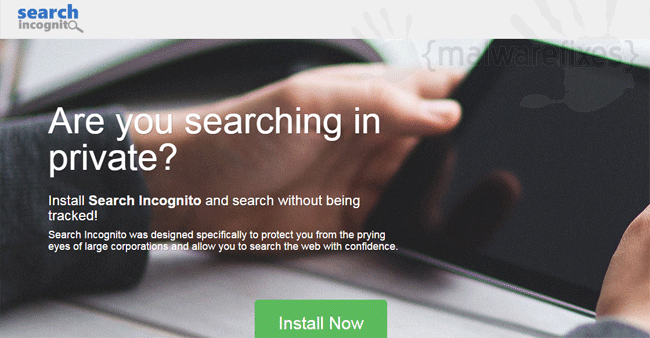 Search Incognito Extension