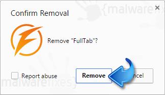 Delete FullTab Extension