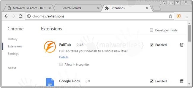 FullTab Extension