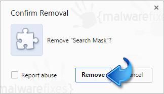 Remove Search Mask