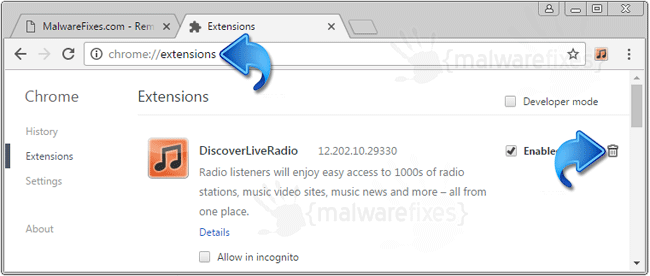 Discover Live Radio Chrome Extension