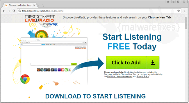 Discover Live Radio Extension