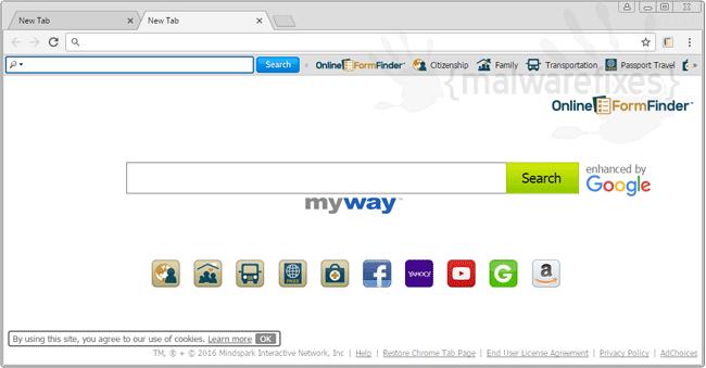 OnlineFormFinder Search