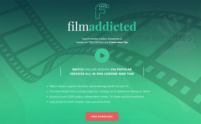 Film Addicted Download Page screenshot