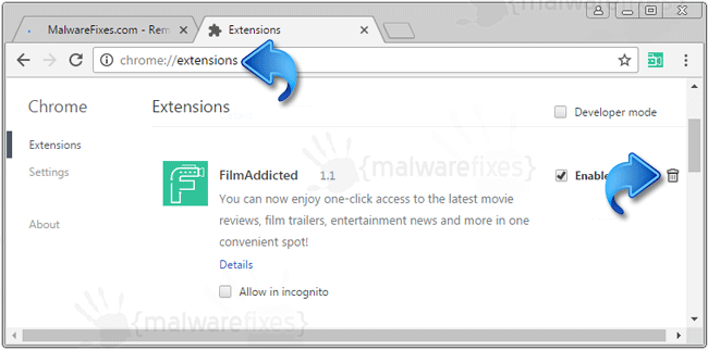 Film Addicted Chrome Extension
