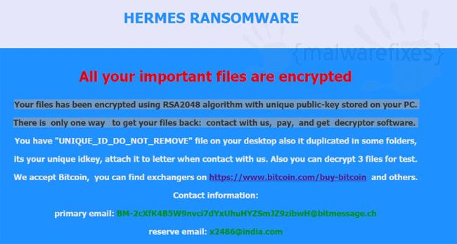 Hermes Virus