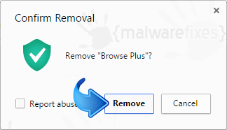 Delete Browse Plus from Chrome