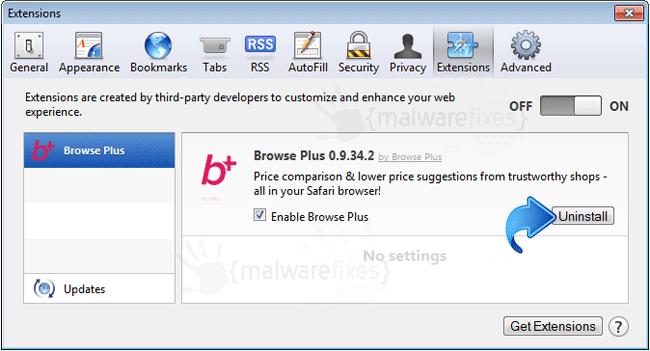 Browse Plus Safari Extension
