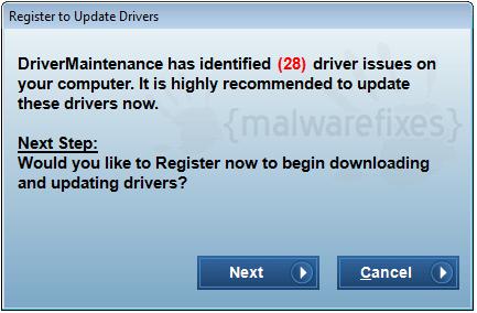 Update Driver Maintenance