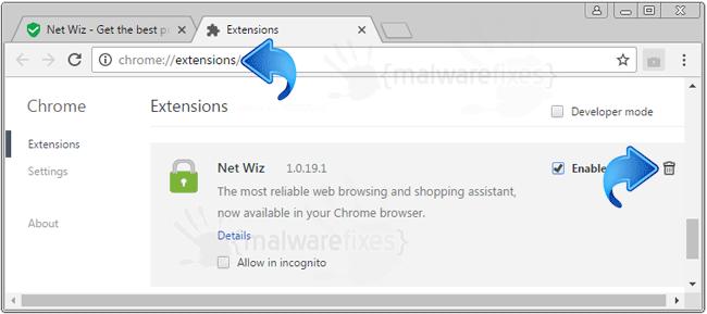 Net Wiz Chrome Extension