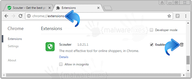 Scouter Chrome Extension