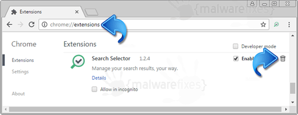 Search Selector Chrome Extension