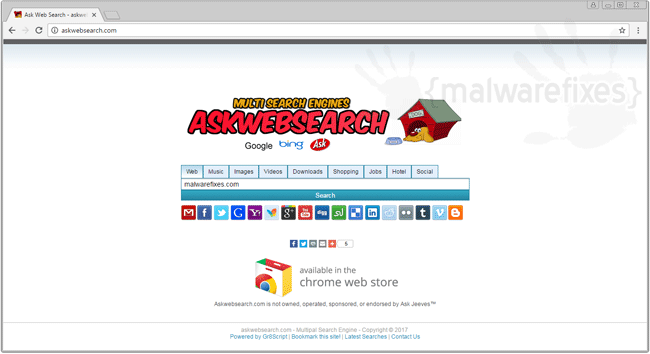 Ask Web Search