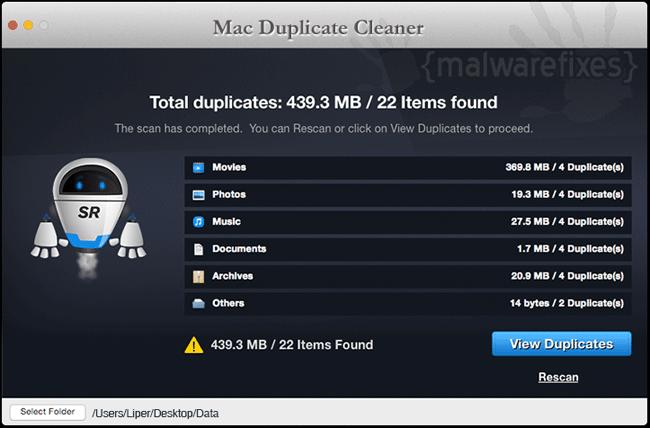 Mac Duplicate Cleaner