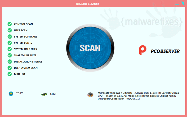 Uninstall PC Observer | MalwareFixes