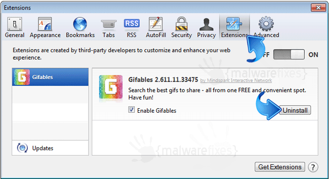 Gifables Safari Extension