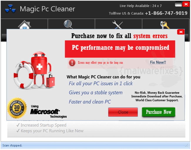 Magic PC Cleaner Registration