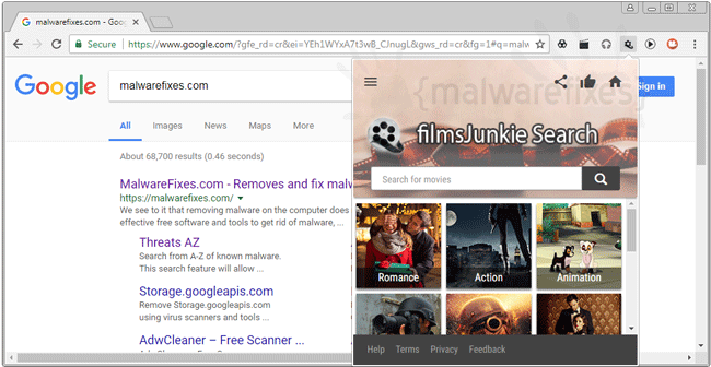 FilmsJunkie Search