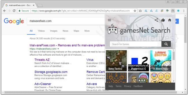 Gamesnetsearch