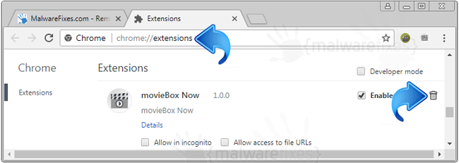 MovieBox Now Chrome Extension
