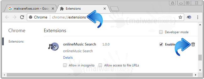 OnlineMusic Search Extension