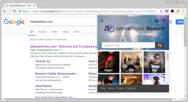 OnlineMusic Search