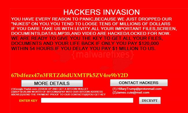 Hackers Invasion