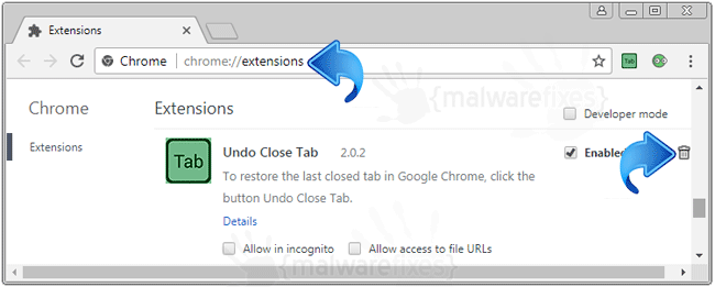 Undo Close Tab Chrome Extension