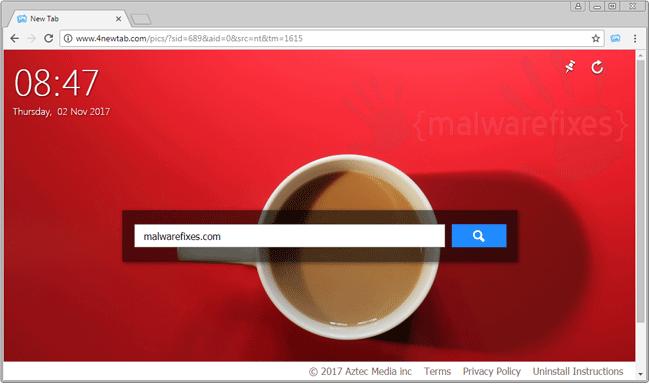 4NewTab.com Homepage