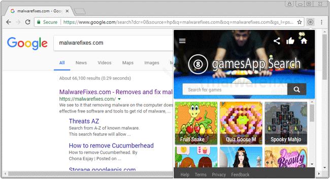 Gamesappsearch