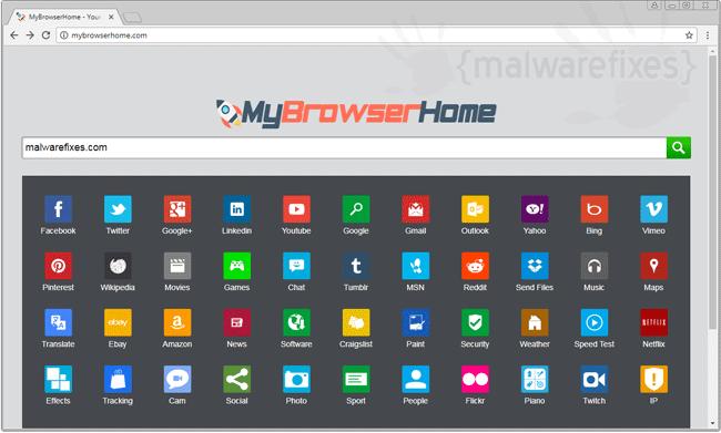 MyBrowserHome.com