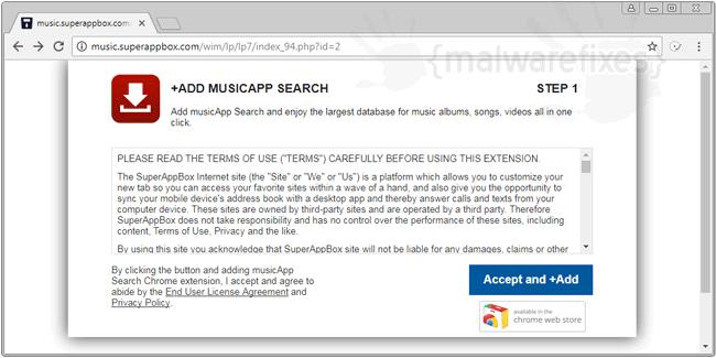Image of Superappbox.com website