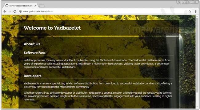 Screenshot image of Yadbazelet