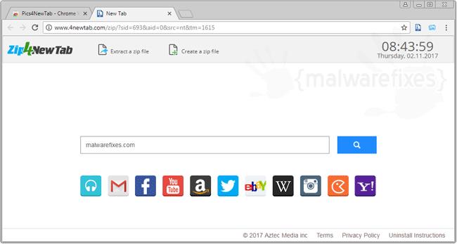 4NewTab.com Search