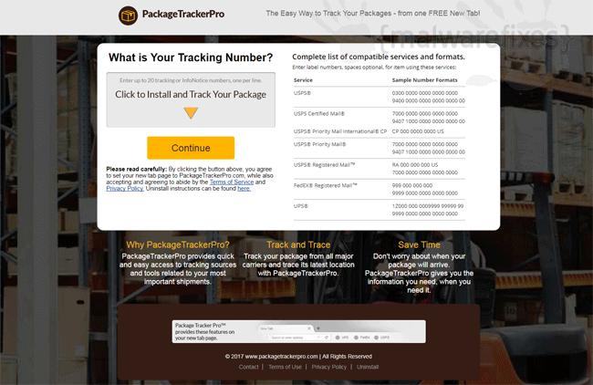 Package Tracker Pro Website