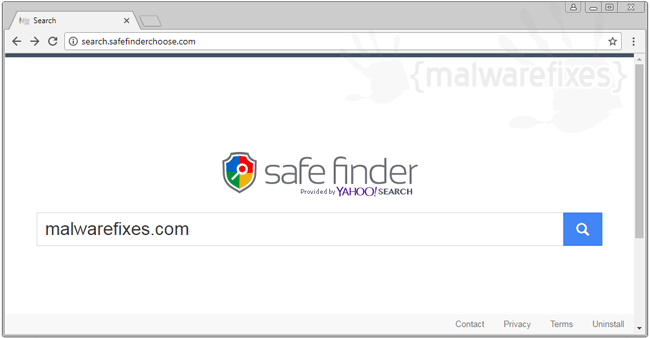 Image of Search.safefinderchoose.com website